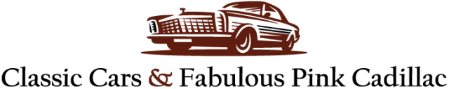 The Classic Cars & Fabulous Pink Cadillac Logo