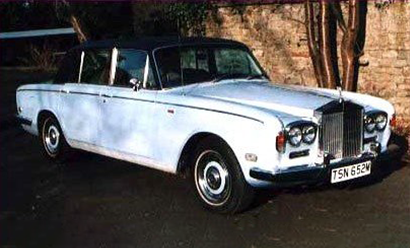 An image of a Rolls Royce Silver